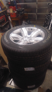 Brand new wheels and tires 2016 Dodge Ram 1500