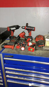 snap-on cordless power tools