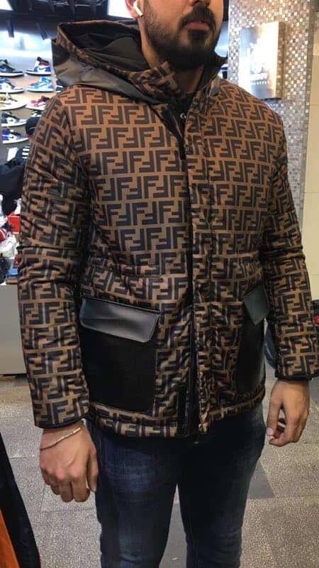 9375a54ea Fendi jacket reversible not moncler gucci