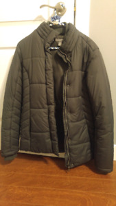 Roots down filled coat size Small