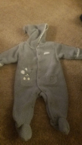 First wish fleece onesie 6-9 months