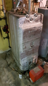 Cast iron furnace. Functioning condition free pick up