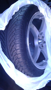 16 inch tires on Alloy aftermarket