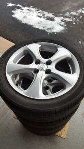 Hyundai Accent alloy 16 inch rims
