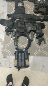 Milsig painball marker and gear for sale