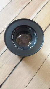 Canon FD 100mm f2.8 converted to EF mount