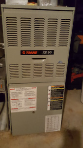 TRANE XE 90 FURNACE & YORK 2 1/2 TON AIR COND FOR SALE!