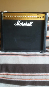 Marshall MG100DFX guitar amp, 100 watts w/ built in effects