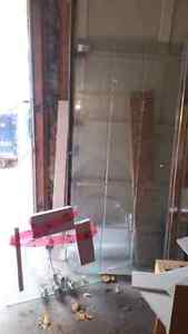 Whole glass bathroom set for sale. Also sold separately 550 obo