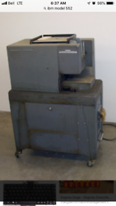 Museum piece IBM model 552 circa 1955 complete and mint