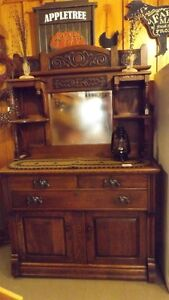 100 YEAR OLD HUTCH/BUFFET