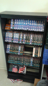 Star Trek VHS tapes .and stand