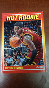2012 SCORE HOT ROOKIE #19 KYRIE IRVING