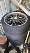 4x Tires & 17 inch rims, width 7.5 inch 4 stud Grange Brisbane North West Preview
