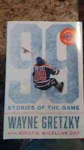Gretzky 99 stories of the game book Autopen Edition