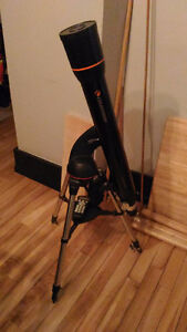 Celestron Telescope with tripod and accessories