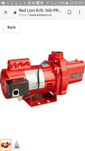 LOOKING FOR A 2 LINE DEEP WELL JET EJECTOR PUMP