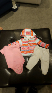9 Month outfit from Carters