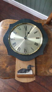 Hand crafted wall clock