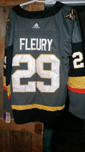 Brand new Vegas Knigjts Flury Stanley Cup hockey jersey