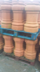 Ulster BIGGEST selection 300 NEW HALF PRICE chimney pots reclaimed