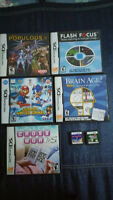 Jeux de Nintendo DS Mario Sonic Populous Flash Focus Brain Age 2