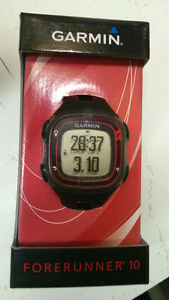 Garmin Forerunner 10 GPS sports watch $90 *NEW*