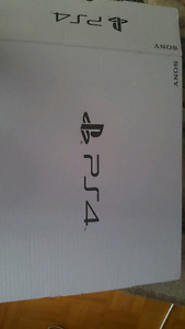 Ps4 brand new in box $280