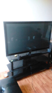 TV Samsung 50'' and TV stand
