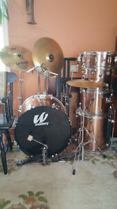 Westbury drums like-new condition