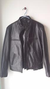 Manteau et cuissard noir