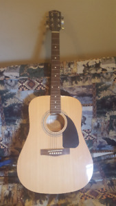 FENDER Acoustic Guitar w/ Stand and Bag