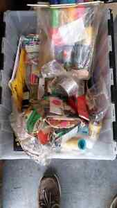 Box full of new sewing. Supplies. $15.00
