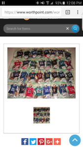 Mini Football Jerseys