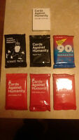 cards against humanity 7 expansion packs