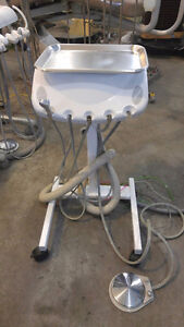 Alliance H Inc. Dental Delivery Cart Used Equipment Chair