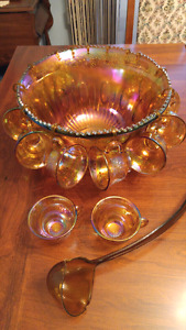 Rainbow Punch Bowl set