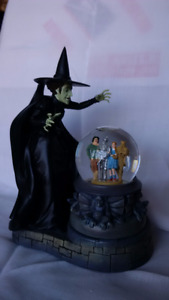 FRANKLIN MINT WICKED WITCH OF WEST & HER BLACK MAGIC BALL