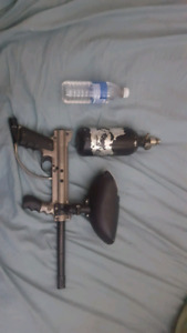 Paint ball gun works perfect