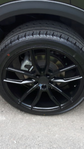 NEW  20 inch Ruffino custom rims and  set of  4  tires for sale