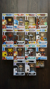 Funko pop - dc, marvel, movies