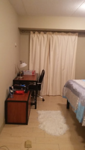 Spring Sublet - Large Bedroom w. Private Washroom@295B Lester St