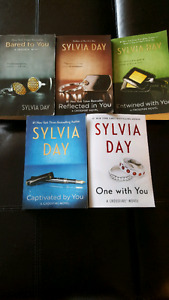 Sylvia Day Crossfire series books