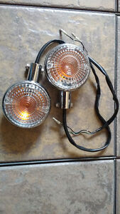 Yamaha VStar 1100 V Star 650 Road Star REAR 2-wire TURN SIGNALS.