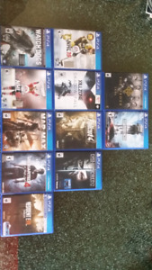 PS4 Games for Sale - See Description for Price