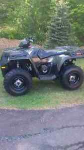 2014 Polaris Sportsman 400 ATV with only 158 km of use