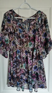 Four (4) XL Maternity Tops - New & Like New - $45 for all