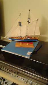 Hand made collectable boat