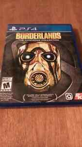 Borderland collection playstation 4 neuf