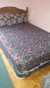 Queen mattress and box spring 120$ only!